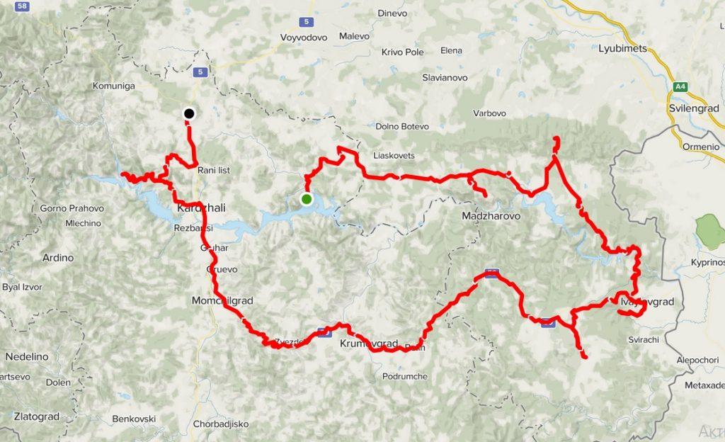 Панорамни места карта
