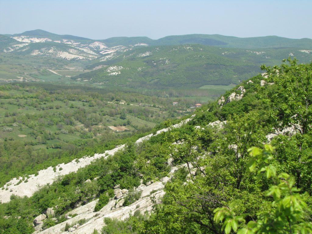 Гледка от екопътека Болярци
