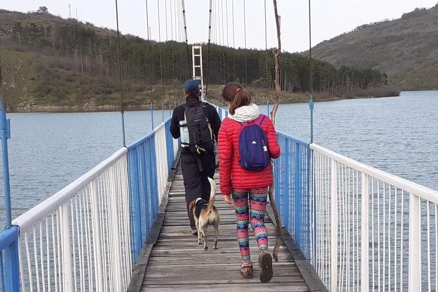Въжен мост Лисиците