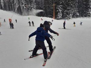 първи стъпки в ските в Пампорово