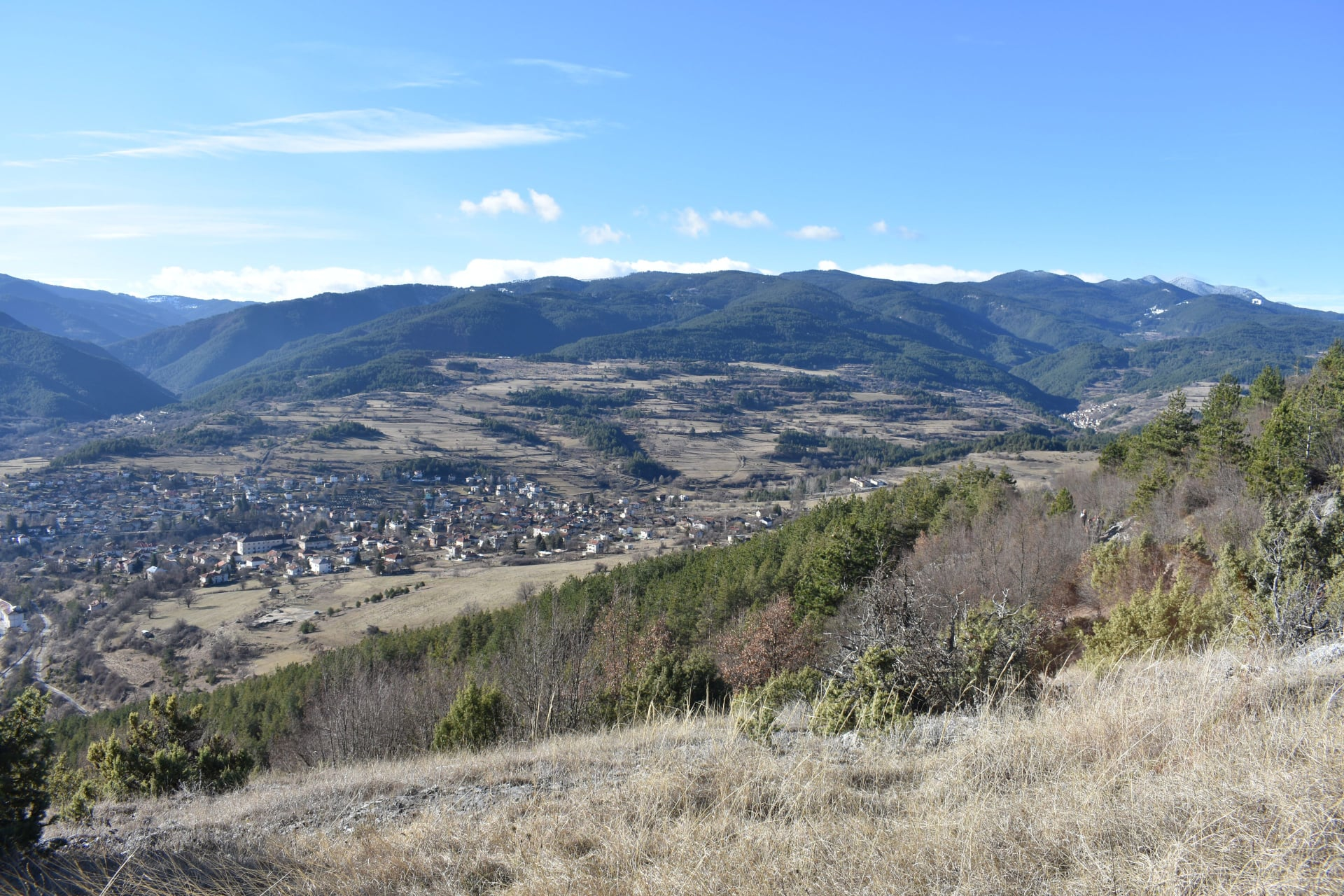 село Хвойна, рида Чернатица